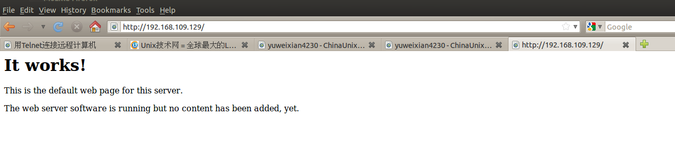 ubuntu安装 apache-yuweixian4230-chinaunix博客