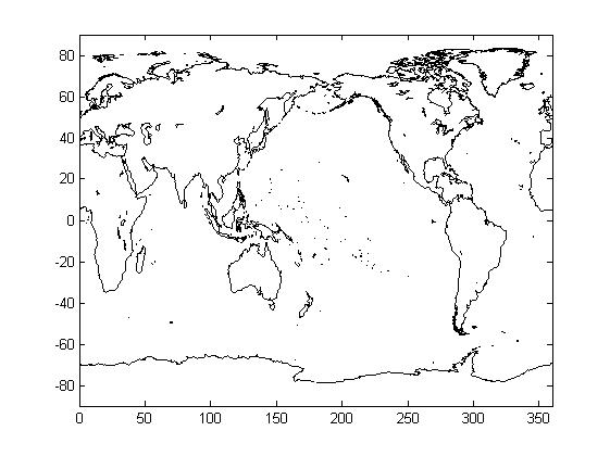 画世界和中国地形图
