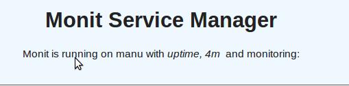 使用monit搭建一个监控系统