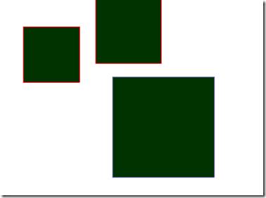 长方形舞台矢量图