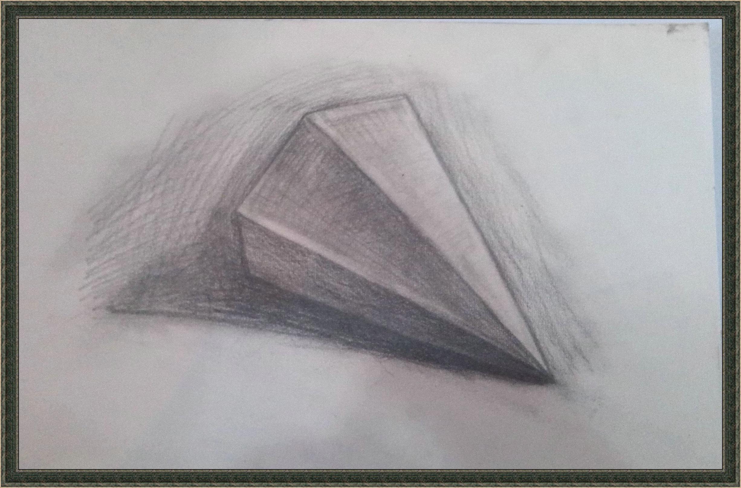 素描圆锥体图片含步骤图