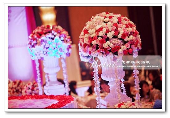 婚礼舞台背景-weiai028