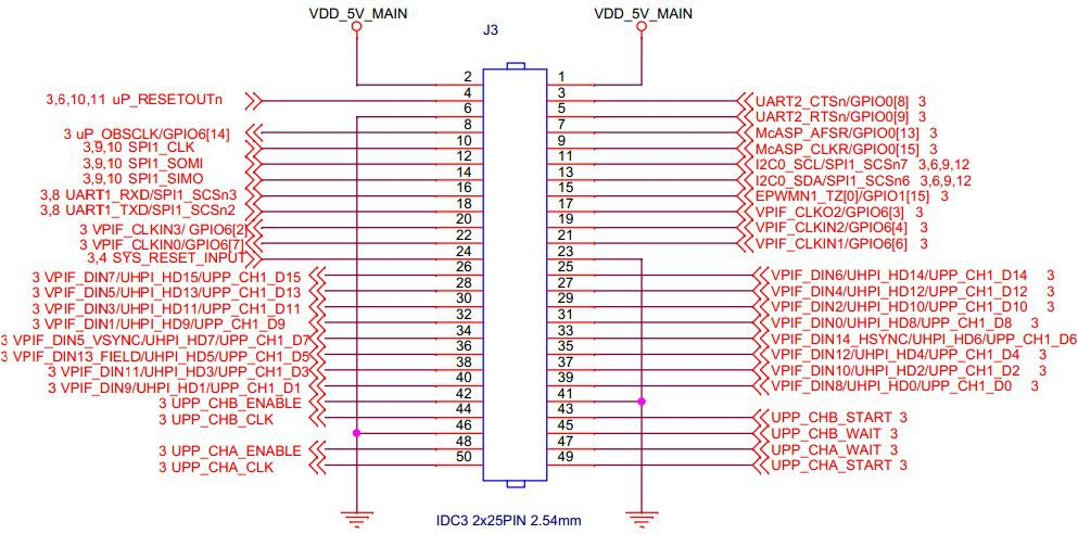 i2c和dsp接口电路图