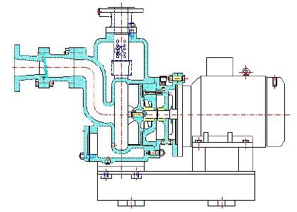 三相热水循环泵电路接线图