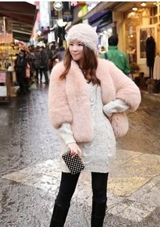 冬装时尚皮草外套搭配
