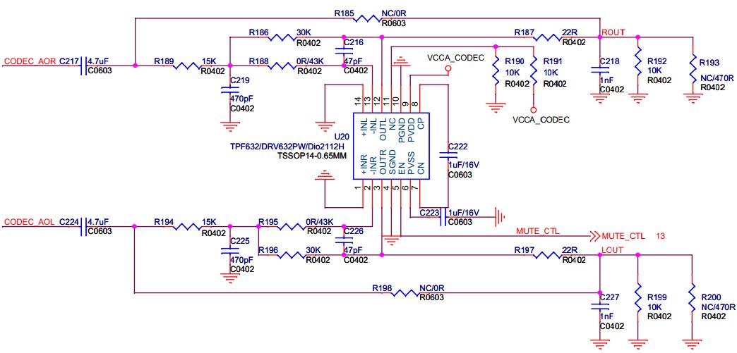 当然,drv632可以省去输出电容,降低对低频的损失.      p8,mic
